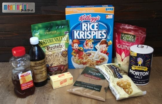 Nature Valley Granola Recipes - Granola Bars
