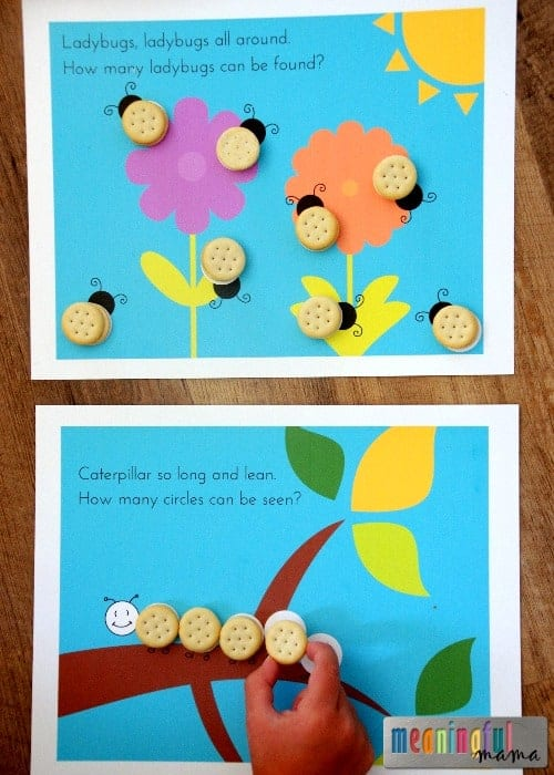 Fun Snack Printable Counting Game