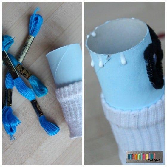Sadness - Pixar Inside Out Craft for Kids