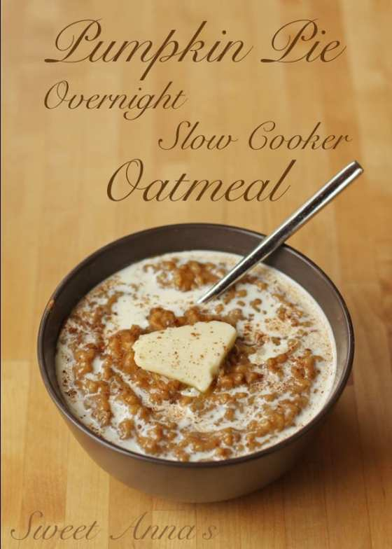pumpkin-pie-slow-cooker-oatmeal