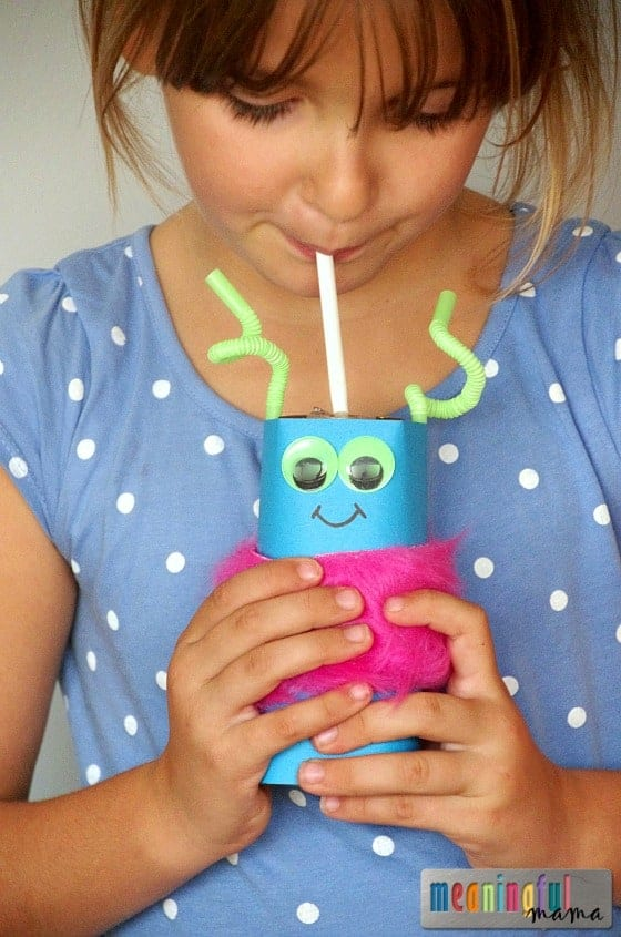 Milk Monsters - Fun Drink Idea for Halloween and Harvest Parties Oct 23, 2015, 2-46 PM