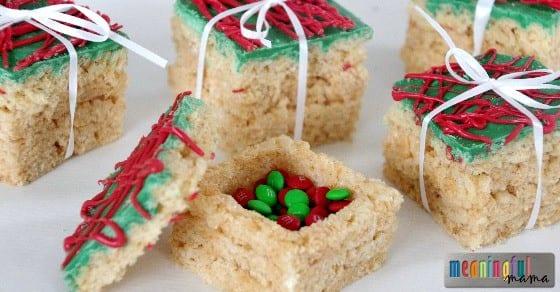 Rice Krispies Treats Christmas Presents