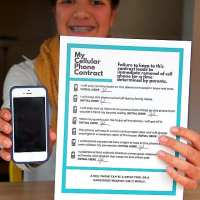 Cell Phone Contract for Kids