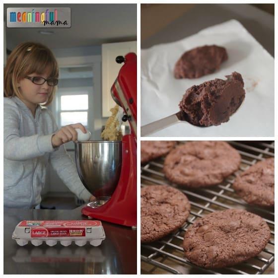 Reindeer Cookie for Christmas - Ice Cream Sandwiches with horizon Organics