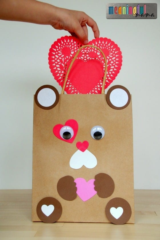 Teddy Bear Valentine Mailbox Idea Jan 21, 2016, 12-58 PM