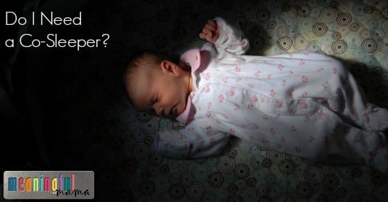 Do I Need a Co-Sleeper