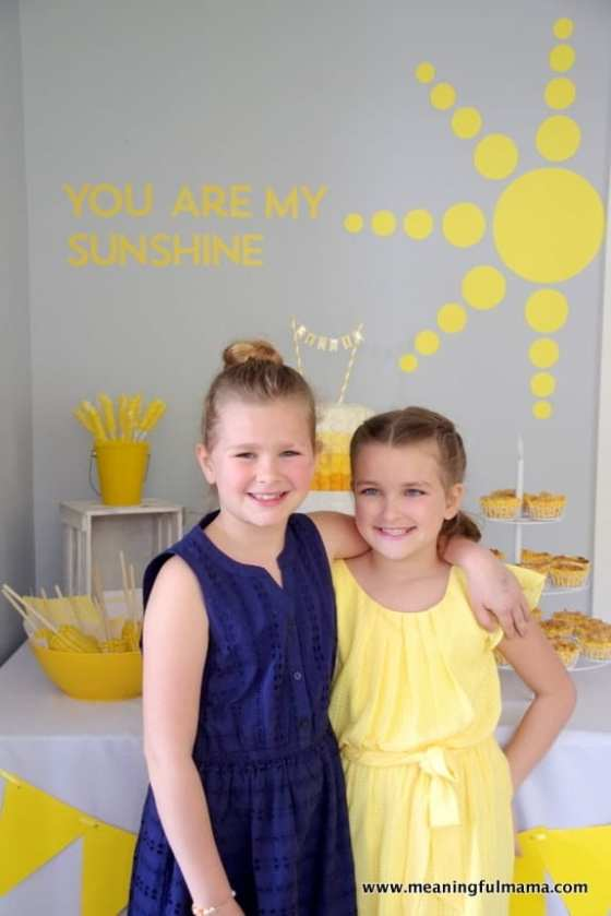 1-Sunshine Birthday Party Ideas - Kenzie 7 Apr 2, 2016, 12-12 PM