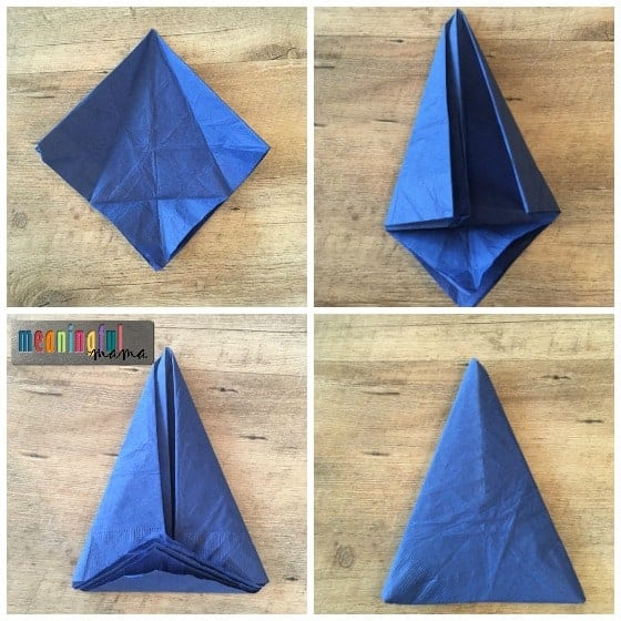 how-to-fold-a-mountain-napkin