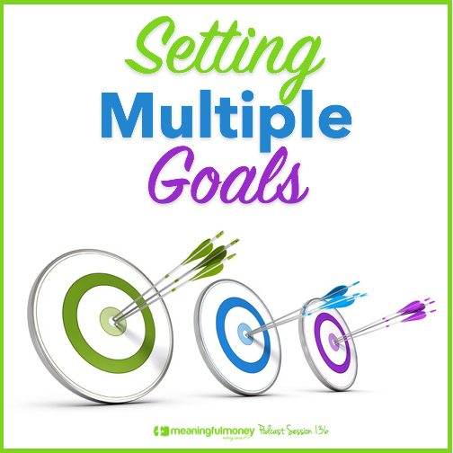 |Setting multiple goals
