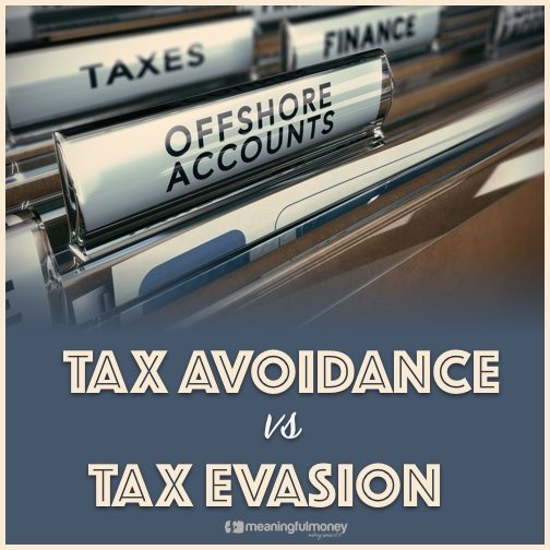Tax Avoidance vs Tax Evasion|Tax avoidance vs tax evasion