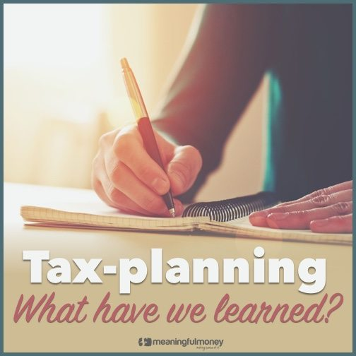Tax planning - what have we learned?|Tax planning -what have we learned?