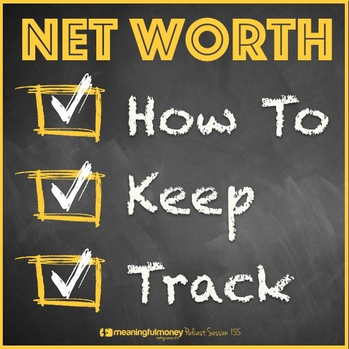 Net worth how to keep track