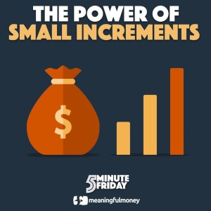 5MF005: Small Changes, Big Results!