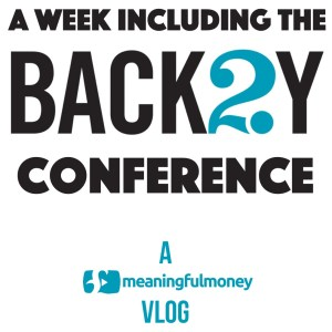 Vlog 003 – A week including Back2Y