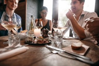 Meals with family and friends