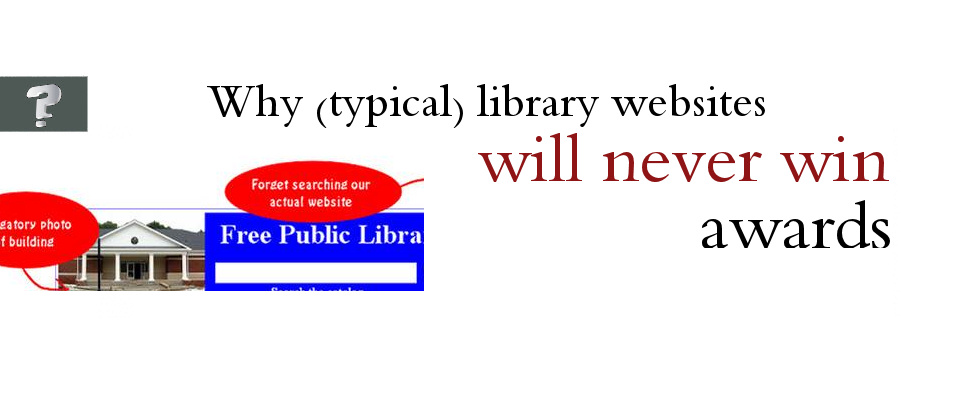 Is your library's website guilty of these?
