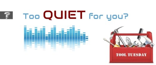 Too quiet for you?