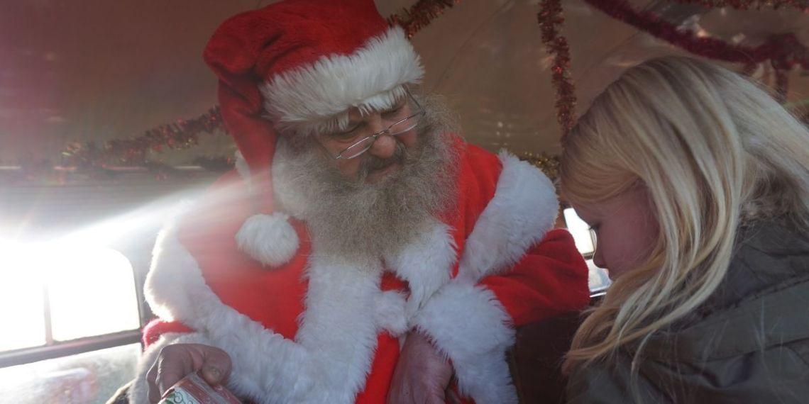 Santa Special at Murton ParkSanta Special at Murton Park