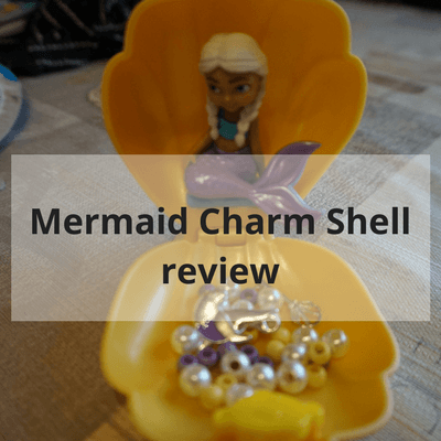 Mermaid charm shell review #toys #review #mermaid