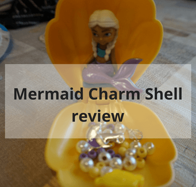Mermaid charm shell review #toys #review #mermaid