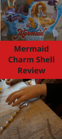 Mermaid Charm Shell Review #mermaid #toys #reviews #parenting #kids #children