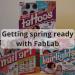 Getting S;ring ready with FabLab cosmetics #hair #nails #tattoo #haircolour #haircolor #nailart #glittertattoo #kidscrafts