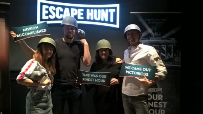 Escape Hunt Leeds Our Finest Hour