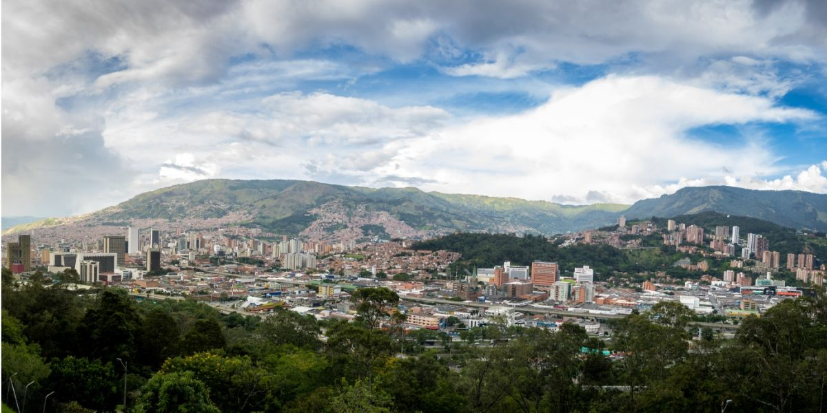 Explore Medellin panorama of Medellin