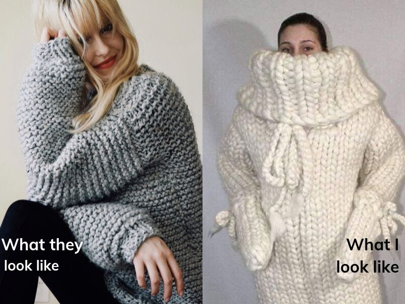 ways to tell autumn is here chunky knits