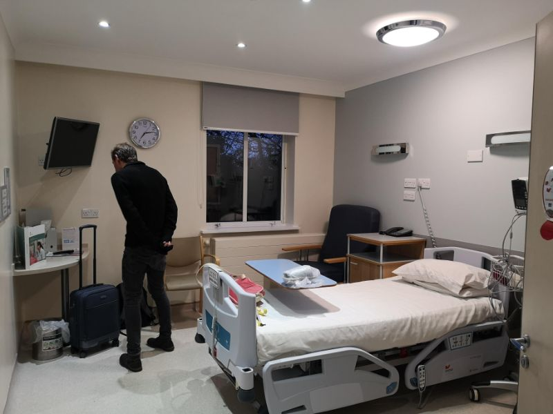 Hospital room - hip replacement