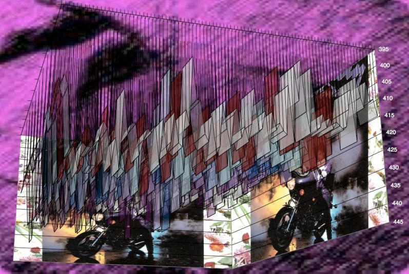 """Purple Rain"" - Prince - Meanspeed Music Graph © 2010 God Bless America"