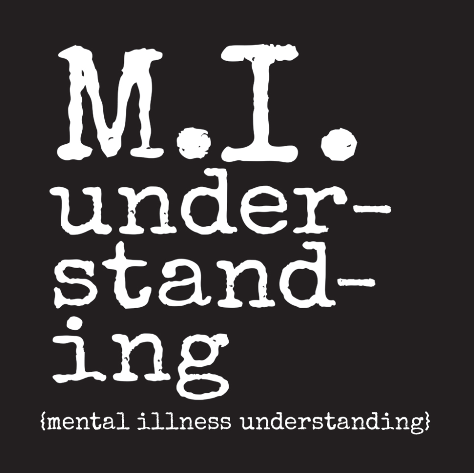 M.I. Understanding mental health logo
