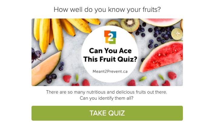 Meant2Prevent Kitchen fruit quiz image