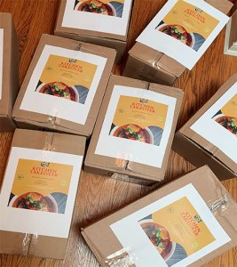food boxes for kitchen takeover program