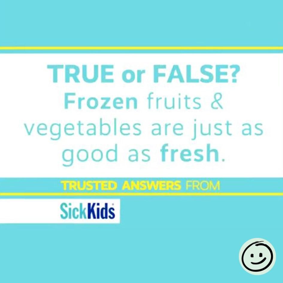 fresh frozen vegetables fruits youtube image