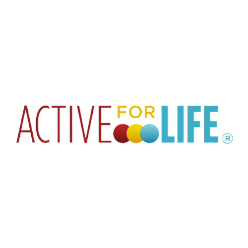 active for life logo in colour