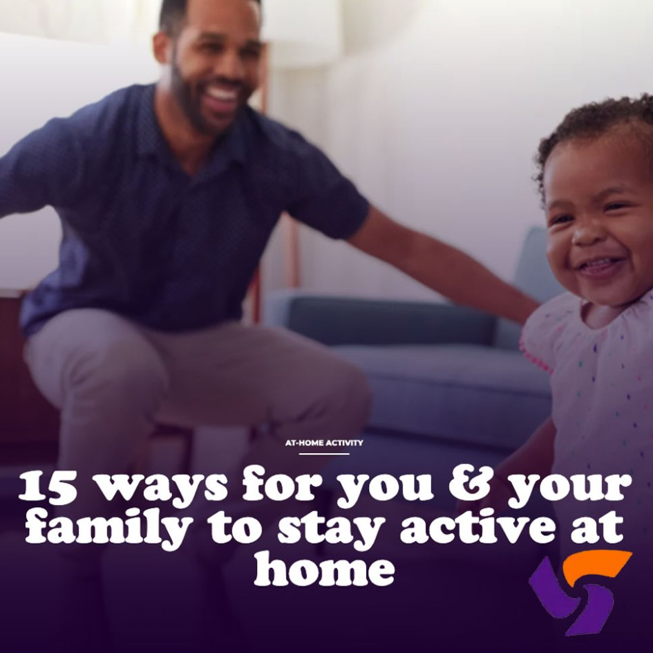 participaction stay active at home