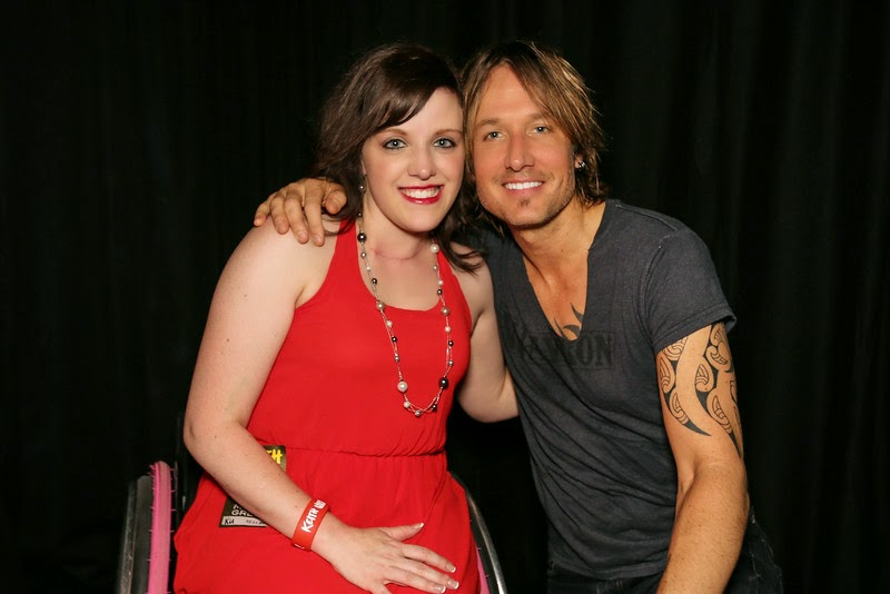 Support meant to be lindsey b alpharetta ga 8242014 meet greet with keith urban m4hsunfo
