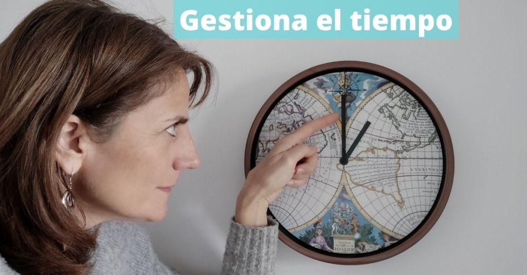 Cómo gestionar el tiempo en el trabajo
