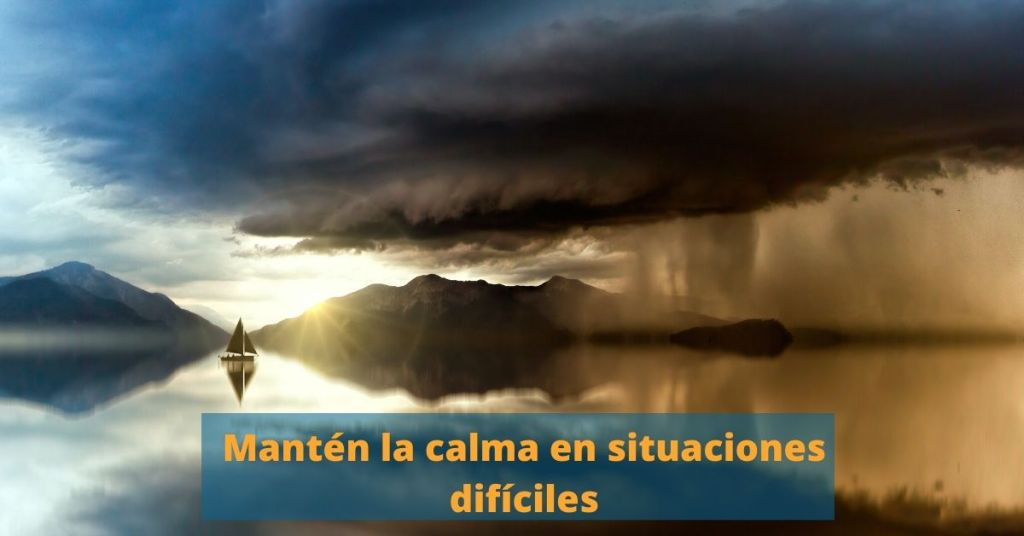 5 técnicas para mantener la calma en momentos difíciles