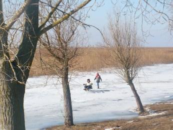 Iarna... pe Ricikă