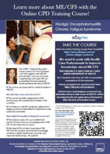 MEA leaflet on the StudyPRN online training course