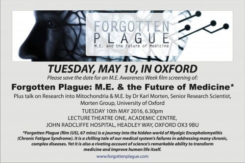 Forgotten Plague, Oxford copy