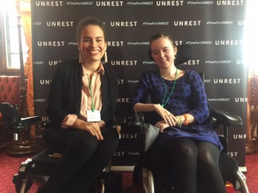 Jen Brea and Jessica - Unrest Parliament - Oct 2017