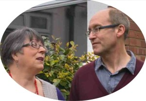 Shirley and her husband Keith