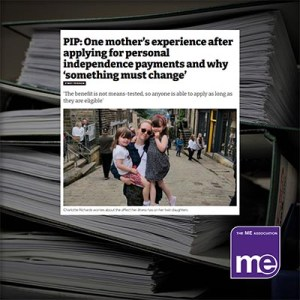 PIP: One mother's experience after applying for personal independence payments and why 'something must change'