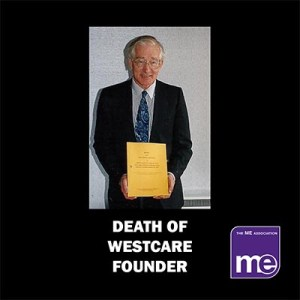 Sad news of death of Westcare founder and National Task Force creator Dr Richard Sykes