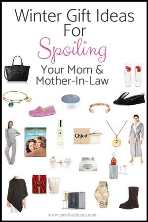 """I carefully selected gifts that I consider """"fun gifts."""" You won't find any mops or practical kitchen gadgets or household items on my list. Our moms are special--and they deserve to feel that way. #giftideas #giftguide #holiday #chirstmasgifts #christmas #mom #motherinlaw #giftsformom"""