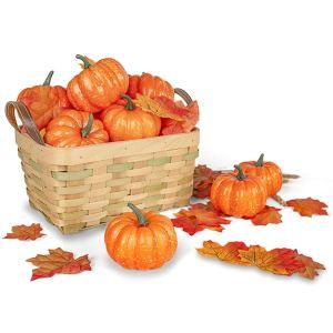 mini-artificial-pumpkins