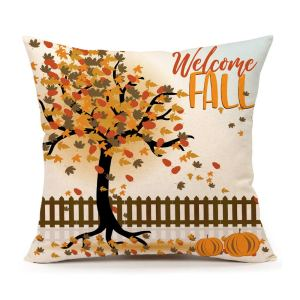 welcome-fall-pilllow-case-cover